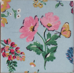 Ceramic Wall Tiles Made With Cath Kidston Meadow Blue